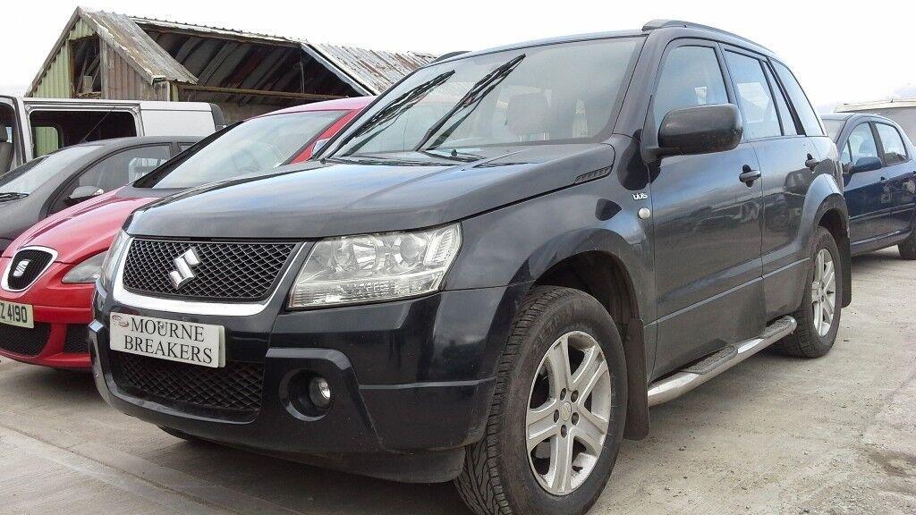 **FOR BREAKING** 2008 Suzuki Grand Vitara 1.9 diesel.