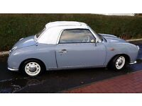 Good example of this cult classic car. Original lapis grey, 1l turbo charged automatic