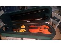 Full size Viola, bows & case (Elysia Stentor)