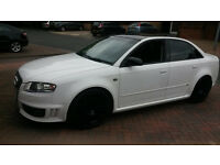 BARGAIN -AUDI RS4 REPLICA 2.0 TDI - Full RS 4 Black Leather interior -Bargain if you have cash!