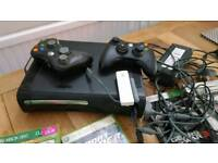 Xbox 360 Xonsole/games/controllers