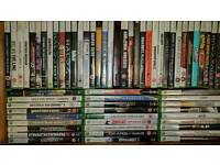 Assortment of xbox games
