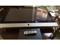 Samsung plasma 42 inch tv plus sky hd box
