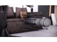 Rode Procaster Broadcast Dynamic Microphone & PSM1 Shock Mount