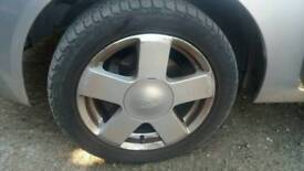 "Fiesta 15"" Alloys With Good Tyres"