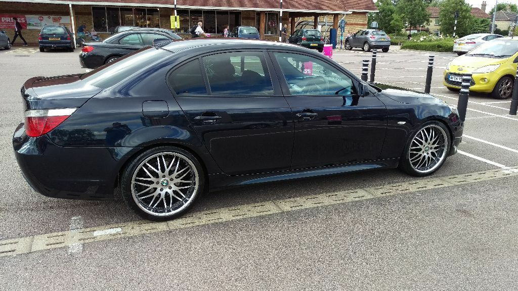 bmw e60 530d auto m spoet 286bhp 20 alloys in hartford cambridgeshire gumtree. Black Bedroom Furniture Sets. Home Design Ideas