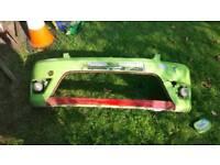 Mk6 fiesta zetec s front bumper with grills