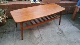 Retro 60's coffee table