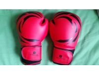 Boxing Gloves DOMYOS FKT 180 Beginners size 8 oz