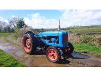 ** Fordson Major Tractor **