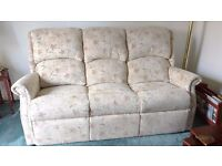 3 piece suite , almost as new, original cost £2400.00 less than two years old