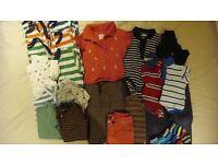 Baby boy clothes 9-12 months (a few 6-12 months) JoJo, M&S, Gap and John Lewis