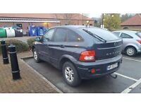 LHD SSANGYONG ACTYON 2007 YEAR 2.0 CDI 4×4