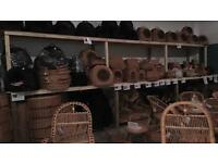 Sale of whole lot of wicker products