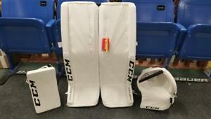 "CCM Premier II Pro Senior 35""+1.5 Hockey Goalie Pad set"
