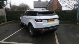 Land Rover Range Rover Evoque TD4 SE TECH (white) 2016-11-17
