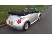2005 VW Beetle 1.4 Convertible Power Hood 1 Owner Cheap 1 Yr Warranty Full Service History 1 Yr MOT