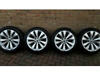 Genuine audi vw phoenix alloy wheels 17 inch