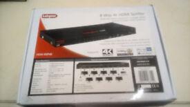 8 way 4K HDMI Splitter USED