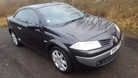 2007 *57* Renault Megane 1.5 DCi DIESEL CONVERTIBLE **71000 MILES**MOT NOVEMBER**50MPG