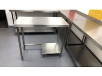 Stainless steel tables - Parry