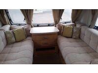 Lunar Quasar 464 Touring Caravan (2011). Terrific Small Used Family Van. End Bunk Beds 4 berth
