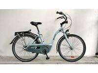 "(1715) 26"" 17"" B'TWIN DUTCH STYLE CITY COMMUTER BIKE BICYCLE Height:157-178cm"