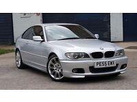 2005 BMW 3 Series 2.0 320Cd M Sport 2dr ** COUPE M SPORT * AUTO * LEATHER * DIESEL * *BARGAIN £2400*