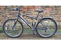 Mens Bike Carrera Parva Hybrid Limited Edition with £60 extras Medium size Frame and ''27.5'' Wheels
