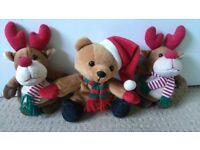 Three Christmas Beanies
