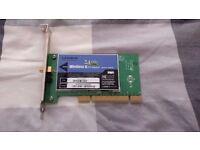 Linksys PCI wireless adapter WMP54G