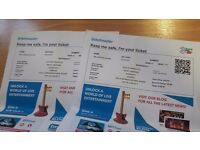 Ricky Gervais Humanity Tour 2x tickets to Dublin Sat 24th June 2017