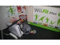 Nintendo wii/fitness board