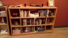 Beech Bookshelving/Display Unit