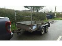 cracking 8ftx5.6ft ifor Williams general duty trailer no vat