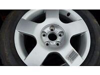 "audi vw wheels 16"" never used"