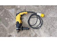 Dewalt D25113-lx sds 3 Mode Hammer drill 110V