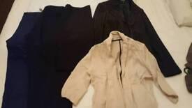 Elegant trousers, skirt, blazers size 10