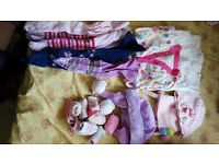 Girls bundle 9-12months