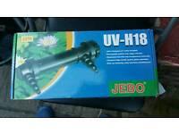 Jebo UV-H18 Ultraviolet Sterilizer for Aquariums
