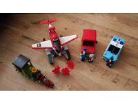 Toy bundle. Planes and Postman Pat