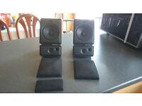 Polk Audio M3 2-Way Speakers Full Working Order ��30 OVNO