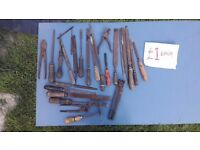 **HAND TOOLS**£1 EACH ITEM**FILES**PLIERS ETC**DIY**MORE AVAILABLE**