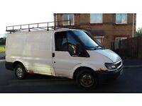 ford transit swb 2005 t280 m.o.t august spares or repair