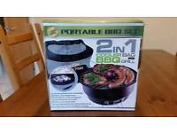 2 in 1 Cooler Bag with BBQ Grill