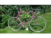 Fantastic Graham Weigh Reynolds 531c Fixie Retro Steel Road Bike - 63cm frame with Campag ends