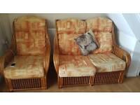 Nice, colored sofa