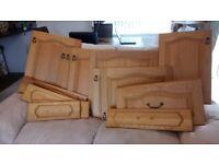 Oak Kitchen Cupboard Door & Drawer Fronts