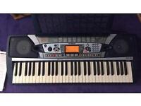 Yamaha keyboard Portatone PSR-282 with music books £85