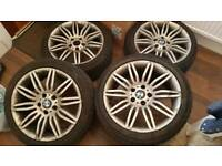 BMW Alloys with Tires 120 x 5
